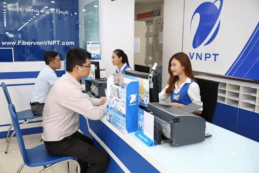 Đăng ký internet VNPT trực tiếp tại điểm giao dịch.