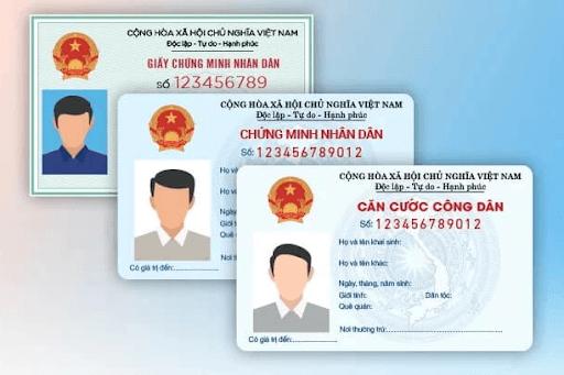 CMND/CCCD photo hoặc bản gốc của người đứng tên hợp đồng.